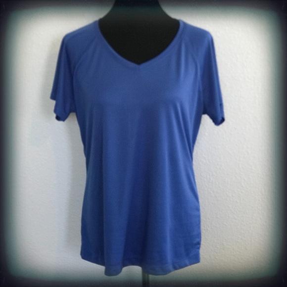 931cd54732e43b Danskin Now Tops - Danskin Now Loose Fit Workout Shirt Blue XL